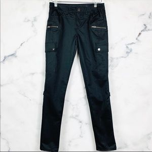 Blank NYC Black Cargo Skinny Pants